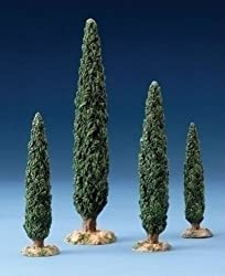 Fontanini CYPRESS TREE SET Figurine 5 Inch Series