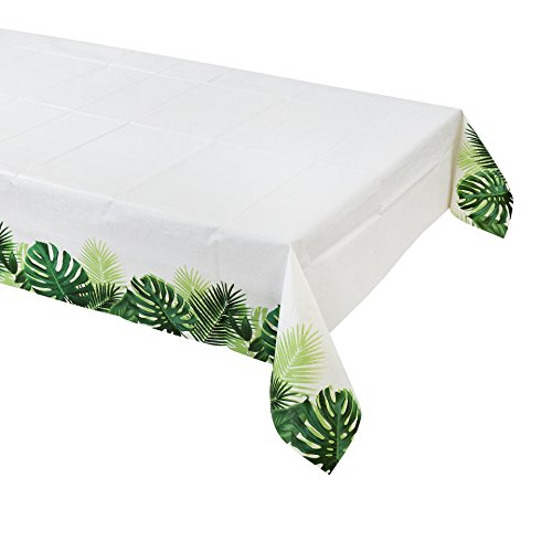 Talking Tables Fiesta Party Supplies | Fiesta Paper Table Cloth | Great For Jungle Themed Party, Luau Party, Hawaiian Party, Baby Shower And Birthday Decorations]()