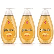 Johnson's Tear Free Baby Shampoo, Free of Parabens, Phthalates and Sulfates, Triple-Pack, 3 x 20.3 fl. oz