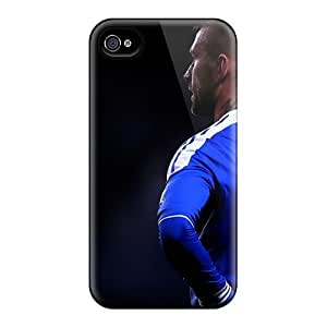High-quality Durability Cases For Iphone 4/4s(chelsea Fc Football Stars Raul)