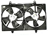 TYC 620940 Nissan Quest Replacement Radiator Condenser Cooling Fan Assembly