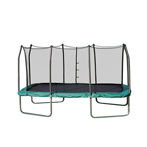 Skywalker Trampolines 14-Foot Rectangle Trampoline with Enclosure Net...