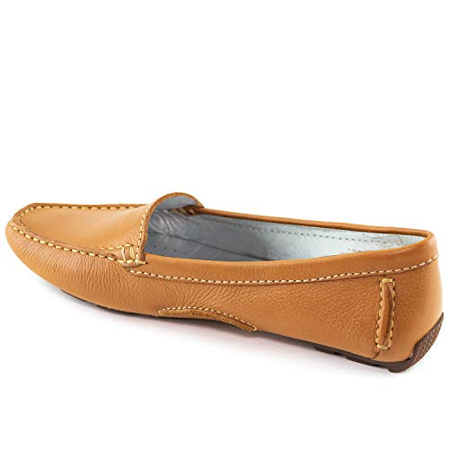 MARC JOSEPH NEW YORK Women's Leather Made in Brazil Manhasset Loafer Driving Style
