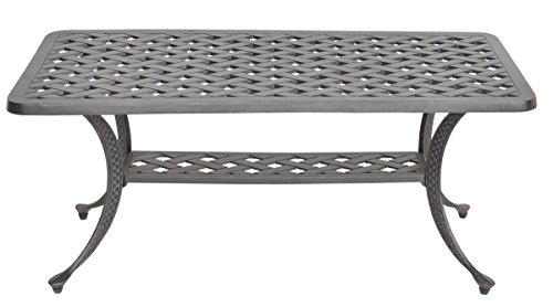 K&B PATIO LD1031F-2142 Nassau Coffee Table, 21
