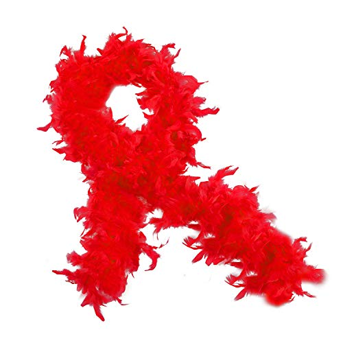 Feather Boa - Marabou Feather Boa - Flapper Accessories - Diva Dress Up - By Funny Party Hats