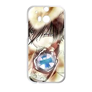 HitmanReborn HTC One M8 Cell Phone Case White Phone cover M8841762