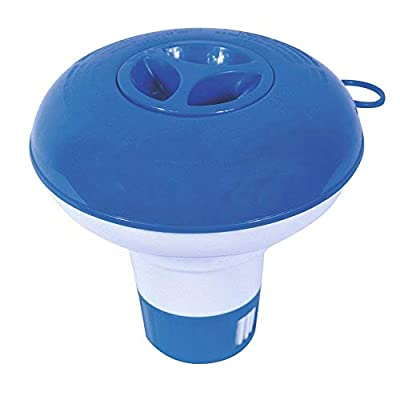 Xeminor Swimming Pool Dispenser Chemical Floater - 5 inch, Blue