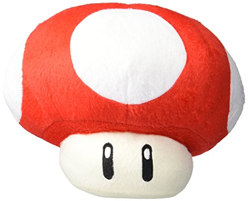 (MoralBelief Super Mario Brothers Red Mushroom 8-inch)