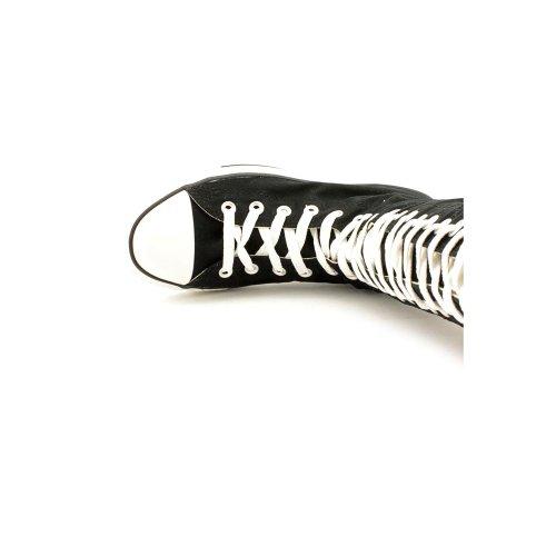 77f8c783260213 free shipping Converse The Chuck Taylor All Star XX-HI Zipper Sneaker in  Black