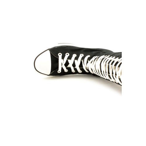Converse Chuck Taylor All Star Xxhi Svart / Hvitt Lerret Sko 1v708