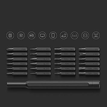 Wewoo Destornillador Xiaomi mijia Wiha Uso Cotidiana Kit 24 en 1 ...