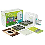 AccuQuiltGO! Me Easy Fabric Project Maker with GO! Me Fabric Cutter, (2) GO! Dies, GO! Cutting Mat-6' x 6', Pattern & Idea Book, Fabric and Thread and More.