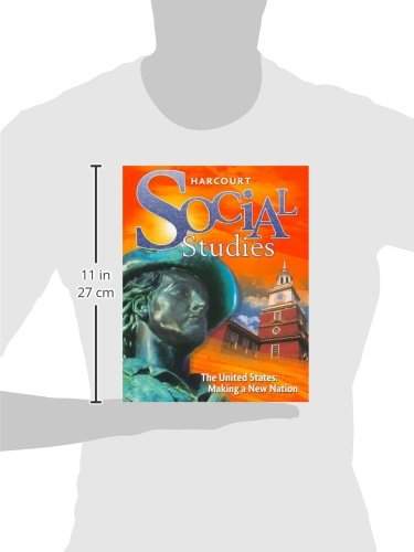 Social Studies: The United States: Making a New Nation by Harcourt (Image #1)