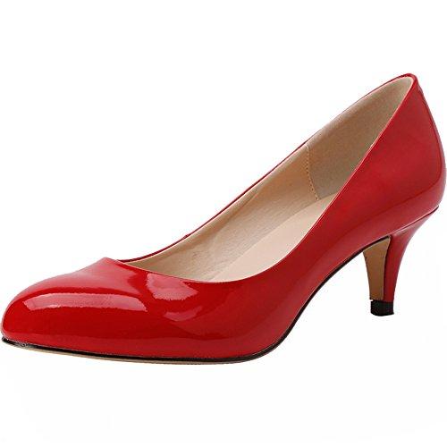 YAOYUE , Peep-Toe femme red