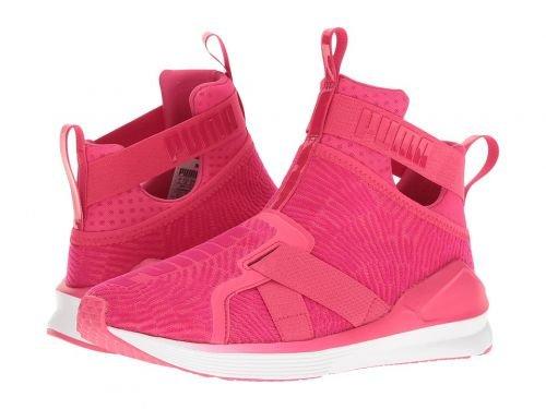 スチュワーデス利益残基PUMA(プーマ) レディース 女性用 シューズ 靴 スニーカー 運動靴 Fierce Strap Flocking - Sparkling Cosmo/Sparkling Cosmo [並行輸入品]