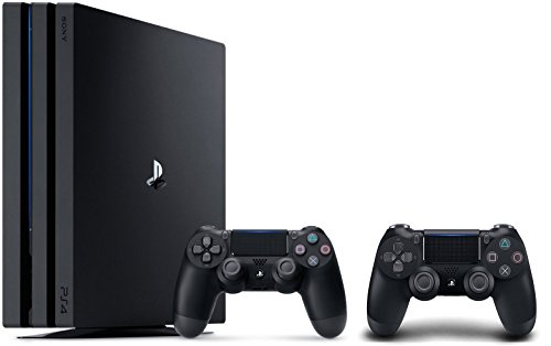 PlayStation 4 Pro Console 3 items Bundle:PS4 Pro 1TB Console,Extra PS4 Dualshock 4 Wireless Controller Jet Black wiht Mytrix Wall Charger