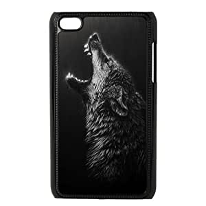 ZK-SXH - Wolves Diy Cell Phone Case for iPod Touch 4,Wolves Personalized Cover Case