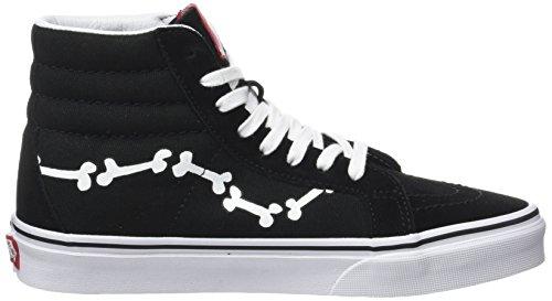 Snoopy de Zapatillas Peanuts Unisex Entrenamiento Black Sk8 Adulto Reissue Peanuts Negro Vans hi Bones 6Ra1aZ