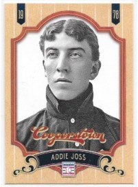 Addie Joss 2012 Panini Cooperstown Cleveland Naps Card #105