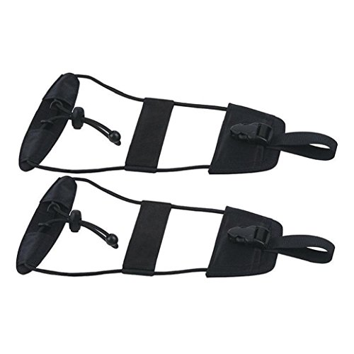 JINGJIA Bag Bungee Strap Suitcase Adjustable Belt Carry On Bungee Travel (2 Pack) (Strap With Suitcase Bag Tote)
