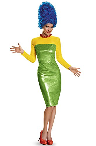 Disguise Women's Marge Deluxe Adult Costume, Multi, X-Large ()