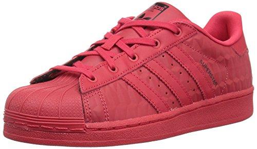 adidas Originals Unisex-Kids Superstar Triple Red C, Rayred,Rayred,Cblack, 12 Medium US Little Kid