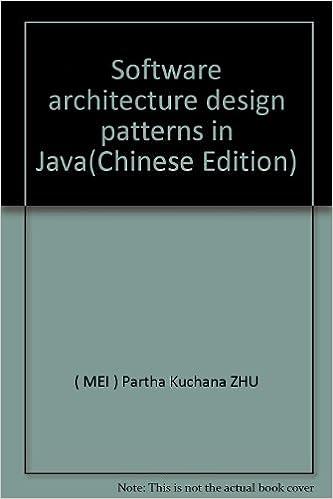 Software Architecture Design Patterns In Java Partha Kuchana Zhu 9787121018732 Amazon Com Books