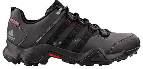 adidas Outdoor Men's CW AX2 Beta Hiking Shoe, Black/Vista Grey/Power Red, 9.5 M US