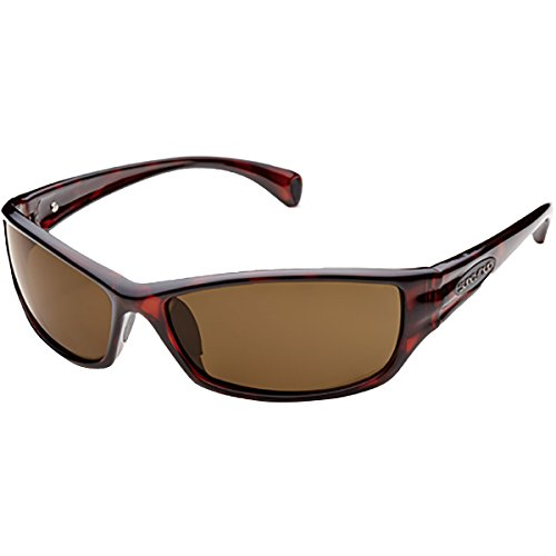 - Suncloud Optics Hook Injected Frames Polarized Lifestyle Sunglasses - Havana/Brown / One Size Fits All