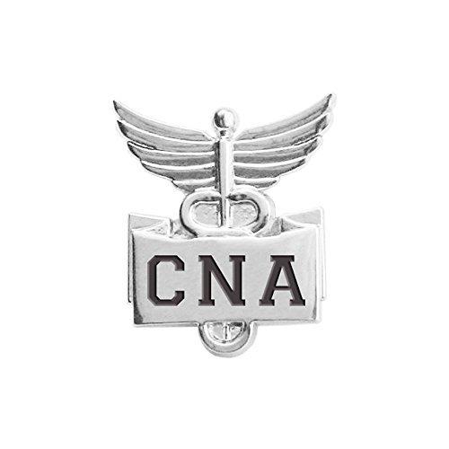 Think Medical Cna Lapel Pin Silver