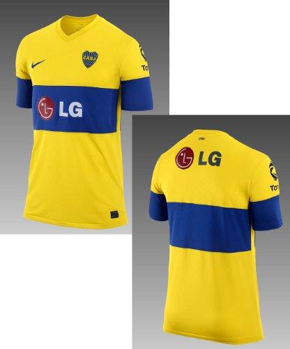 Boca Juniors Yellow Nike Replica Away Jersey ()