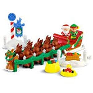 Amazon.com: Fisher Price Little People Night Before Christmas Play ...