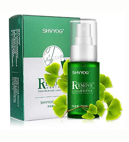 Shvyog Remove Body Odor Water Deodorant for Men and Women Underarm Hircismus Cleaner Antiperspirant Deodorant 1 Times Per Day Armpit Spray Liquid