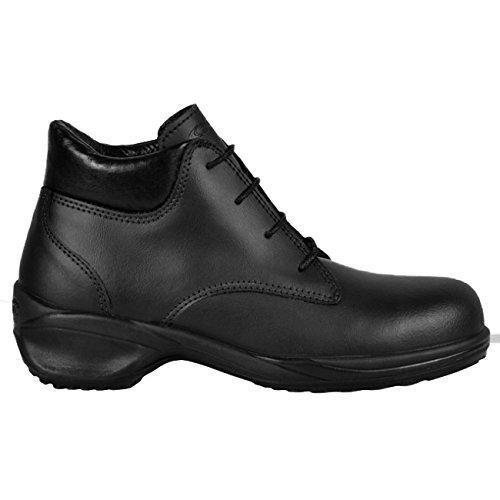 """Cofra 11200–000.d41S3SRC Taglia 41""""New York"""" sicurezza scarpe, colore: nero"""