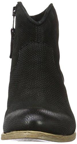 Mjus 790215-0202-6002, Botas Camperas para Mujer Negro (Nero)
