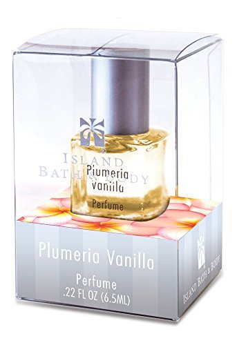 Boxed Fragrance (Island Bath & Body Plumeria Vanilla Boxed Perfume 0.22oz.)