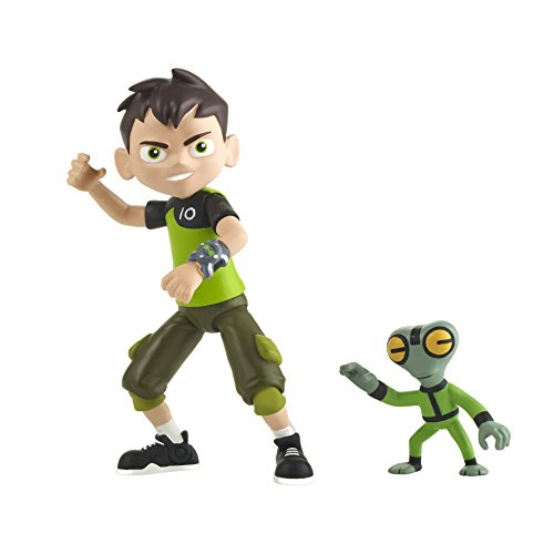 Ben 10 Ben & Grey Matter Action Figure]()