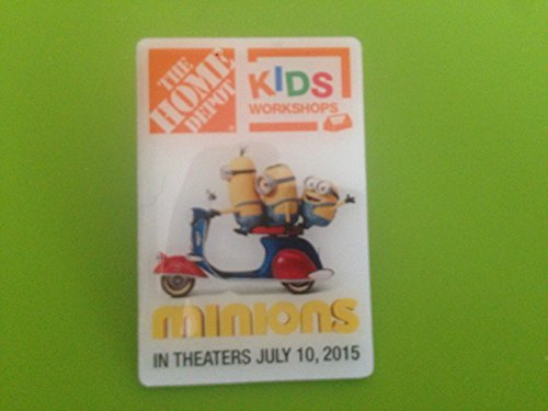 The Home Depot Kids Workshop Minion Pin - Home Depot Pin Shopping Results