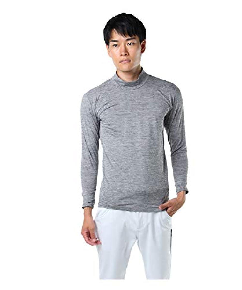 [해외] 투어 디 비젼 골프 언더 웨어 긴 소매 맨즈 메란지 목 긴 소매HN언더 셔츠 TD220210H02 MGY M