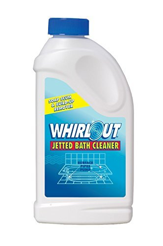 Whirlout WO06N Jetted Bath Cleaner 22oz (1.375 lbs.) Self Cleaning Action Formulated to Clean Hot Tubs, Spas, Whirlpools & Jetted Bathtubs (2 Pack) by Summit Brands (Image #1)