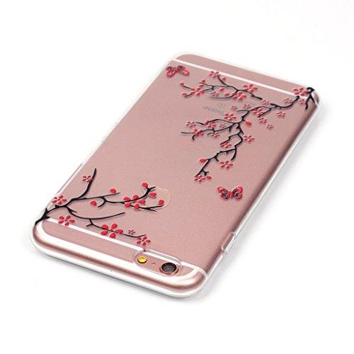 """LH Geäst TPU Hülle Weich Tasche Schutzhülle Silikon Handyhülle transparent Schale Case für Apple iPhone 6 Plus / 6S Plus 5.5"""""""