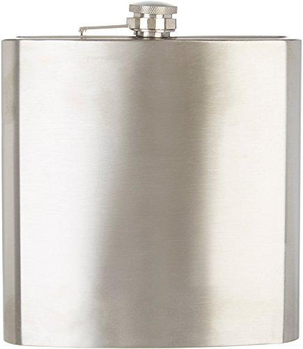 (Sharper Image Stainless Steel 40oz Oversized Flask)