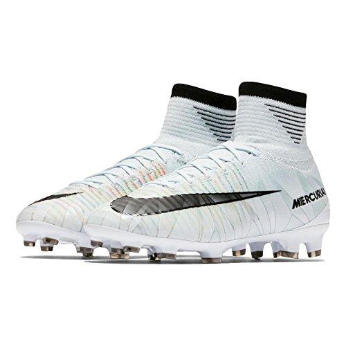 Junior Mercurial Superfly V CR7 Dynamic Fit (FG) Kids Firm-Ground Football Boot BLUE TINT/BLACK-WHITE-VOLT 17/18 Nike BLUE TINT/BLACK-WHITE-VOLT