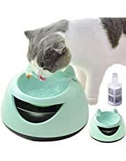 Baodanstore Cat Water Fountain, Cat Water Dispenser Healthy & Super Quiet & Easy Cleaning Pet Fountain with Filter for Cats, Dogs, Multiple Pets