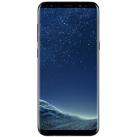 Samsung Galaxy S8 Dual-SIM 64GB 4G Smartphone Unlocked - Midnight Black * FREE Samsung Wireless Charger & HANVEL® Accessories Bag *