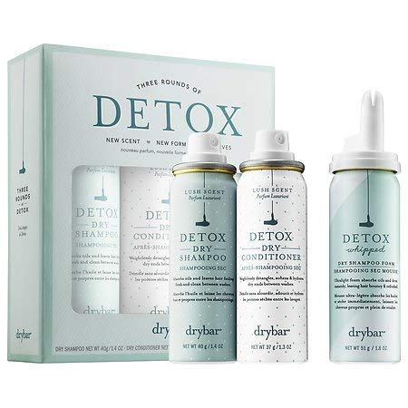 Drybar Three Rounds of Detox - 2 dry shampoos and 1 dry conditioner by Drybar