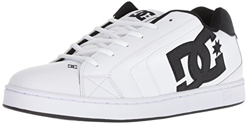 11 SE Men 5 DC Net US Black Medium White Shoe White Skate BTEq8