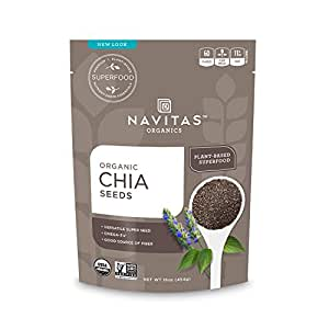 Navitas Organics Chia Seeds, 16 oz. Bag