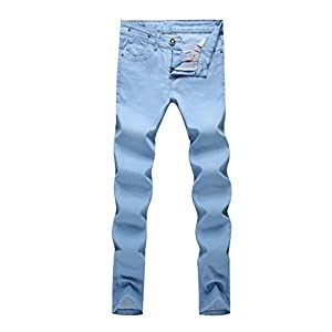 Men's Fit Slim Straight Stretch Denim Jeans