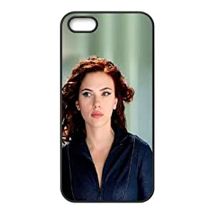 iPhone 4 4s Cell Phone Case Black hf30 natasha avengers scarlett johansson sexy hero H0Q6IT